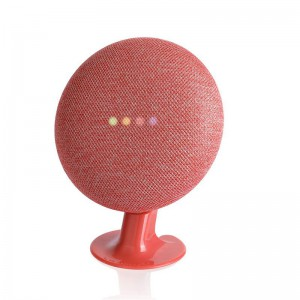 Lanmu Pedestal Stand for Google Home Mini  - Red
