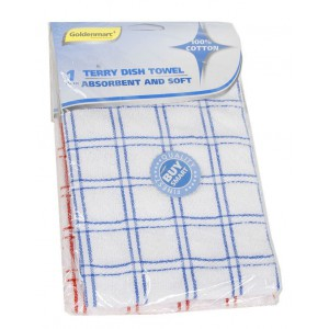 Goldenmarc Terry Dish Towel Cotton