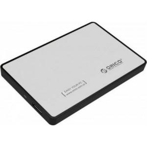 "Orico 2.5"" USB 3.0 External HDD Enclosure - Silver"