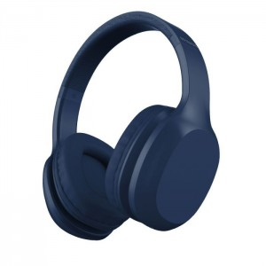 Polaroid 36 Hours Bluetooth Headphone - Blue
