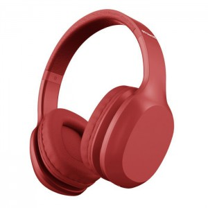 Polaroid 36 Hours Bluetooth Headphone - Red