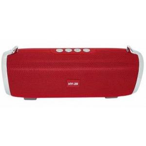 Microworld HY29 Red Bluetooth Speaker / USB / FM / MicroSD