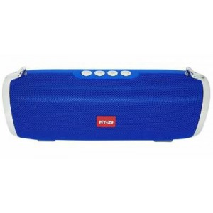 Microworld HY29 Blue Bluetooth Speaker / USB / FM / MicroSD