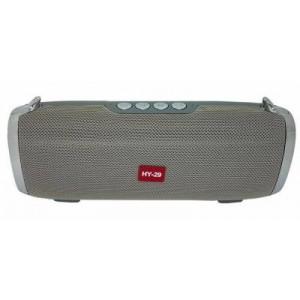 Microworld HY29 Grey Bluetooth Speaker / USB / FM / MicroSD