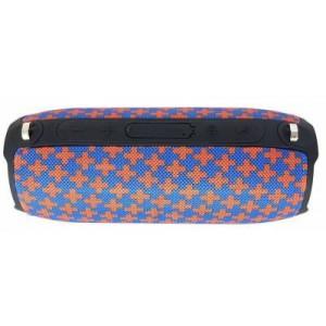 Microworld E8 Blue + Orange Bluetooth Speaker / USB / FM / MicroSD