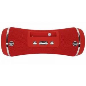 Microworld SLC-076 Red Bluetooth Speaker / USB / FM / MicroSD
