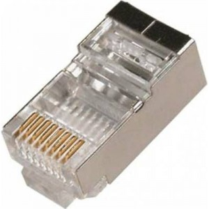 Microworld CAT6 Shielded Connectors 100 Pack