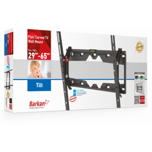 Barkan BRAE310 Fixed Mount with Tilt up to 65  inches