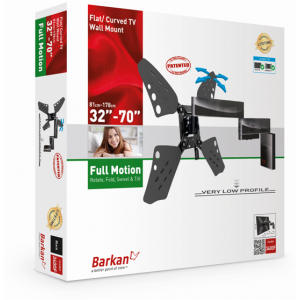 """Barkan BRA3400F Four Movement (rotate,fold, swivel and tilt) up to 70"""""""