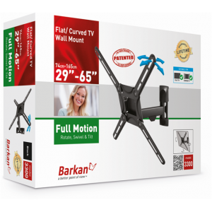 Barkan BRA3300 Three Movement (rotate,swivel and tilt) up to 65 inches