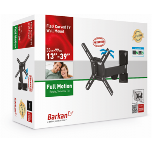Barkan BRAE2300 Three Movement (rotate, swivel and tilt) up to 39 inches