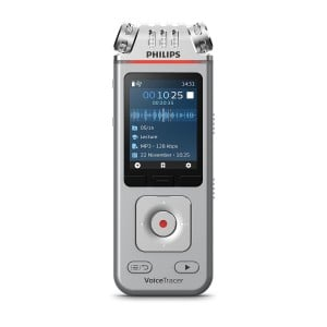Philips Voice Tracer with 3mic, App control & Share Function