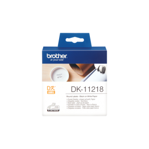 Brother DK 11218 24mm Round Label