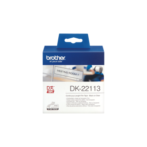 Brother DK 22113 Clear Film (62mm x 15.24m)