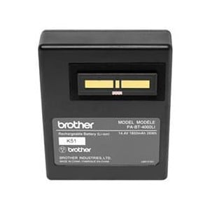 Brother PA-BT-4000LI Lithium-Ion Rechargeable Battery for PT-D800W, P900W/P950NW