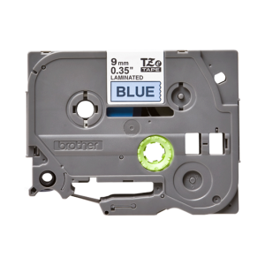 Brother TZE 521 Labelling Tape Cassette - 9mm Black on Blue 8m
