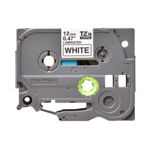 Brother TZE 231 Labelling Tape Cassette - 12mm Black on White 8