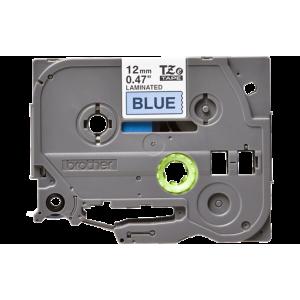 Brother TZE 531 Labelling Tape Cassette - 12mm Black on Blue 8m