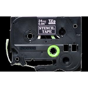 Brother TZE STE151 Black Stencil Tape – 24mm