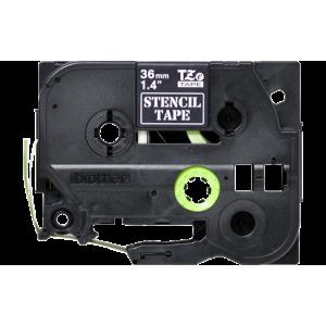 Brother TZE STE161 Black Stencil Tape – 36mm