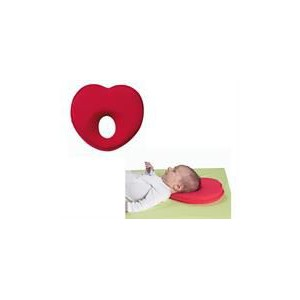 Babymoov Lovenest Headrest Cushion - Red, Ultimate Ergonomic Head And Neck Support: The pillow creates a cocoon-like holding eff