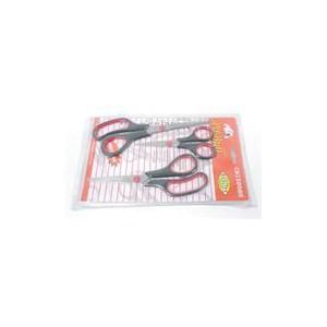 Casey 3 pc Professional Multipurpose Household Scissor Pack -Hardened blade, light weight Multipurpose Household Scissors, warra