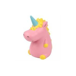 Casey Squishy Scented Hippo Unicorn Design-Made from Super Soft Non-toxic Environmentally Friendly Polyurethane (PU) Scented Foam
