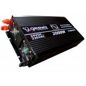 2000W PURE Sine Wave Inverter + Battery Charger + ATS (UPS) - REFURBISHED