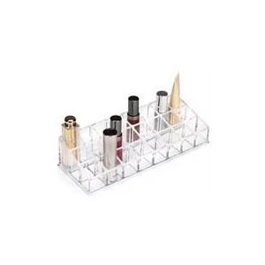 The Glam Guru Lipstick Shelf - Clear Retail Box No warranty