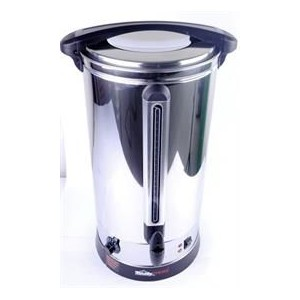 Totally Hot Water 35 litre Body Capacity Urn- Durable stainless steel construction, Heating concealed element for a rapid boil,