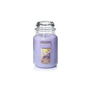 Yankee Candle Lemon Lavender Large Jar Retail Box No warranty