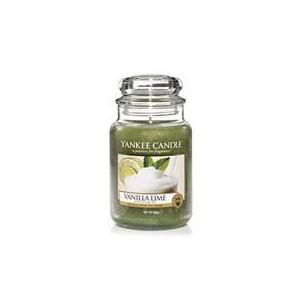 Yankee Candle Vanilla Lime Large Jar Retail Box No warranty