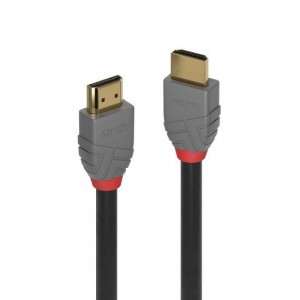 Lindy 0.5m High Speed HDMI Cable, Anthra Line