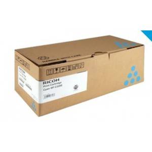 Ricoh SPC252HE High Yield Cyan Toner Cartridge with yield of 6000 pages