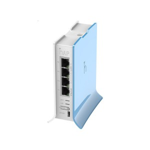 MikroTik hAP lite 2GHz WiFi Router Tower Case
