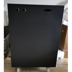 C4 Steel Battery Cabinet - Holds 4x 100Ah batteries (incl circuit breaker)