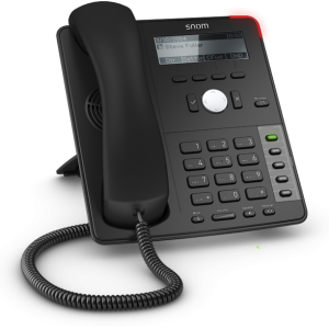 Snom D712 4 Line Desktop Phone with Dual Ethernet
