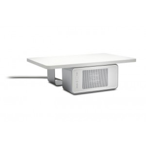 Kensington WarmView Wellness Monitor Stand with Ceramic Heater