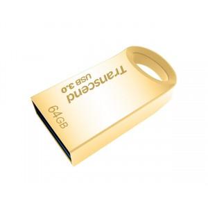 Transcend JetFlash 710 64GB USB 3.0 Flash Drive - Gold