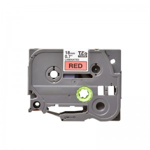 Compatible Brother TZE 441 Black on Red Labelling Tape – 18mm