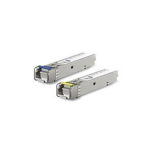 Ubiquiti U Fiber, Single-Mode Module SFP, 1Gbps, BiDi, 2-Pack