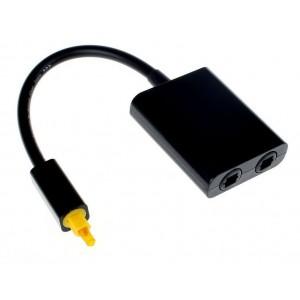 Optical SPDIF Cable Splitter Adapter