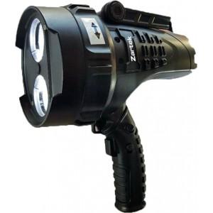 Zartek ZA-467-R Mega Bright Spotlight, 2 x XHP50 LED, 2200lm, Rechargeable, Mains & Vehicle Charger