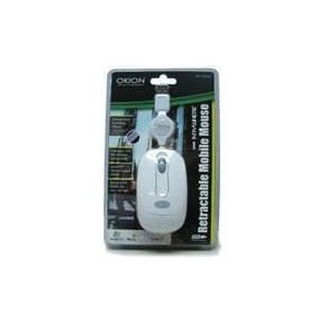 Okion Kozi Mobile Retractable USB Optical Mouse 800dpi