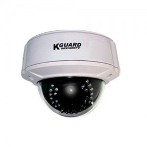 """Kguard Dome Camera 1/3"""" 420 TV Lines 3.6mm"""