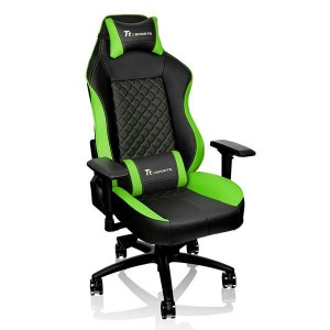 Thermaltake GC-GTC-BGLFDL-01 GT Comfort Black and Green Gaming Chair