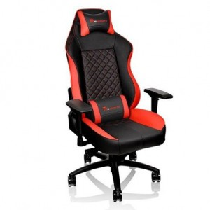 Thermaltake GC-GTC-BRLFDL-01 GT Comfort Black and Red Professional Gaming Chair