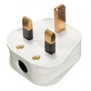 Unbranded 13 Amp British Fused Flat Pin Plugtop