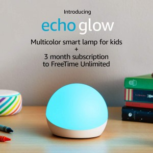 Echo Glow  - requires compatible Alexa-enabled device
