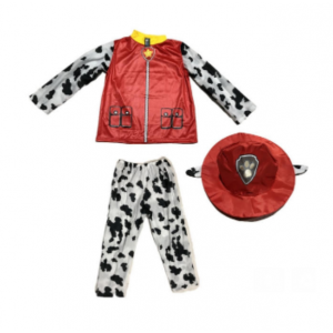 Paw Patrol Kids Dress Up Costume - Marshall